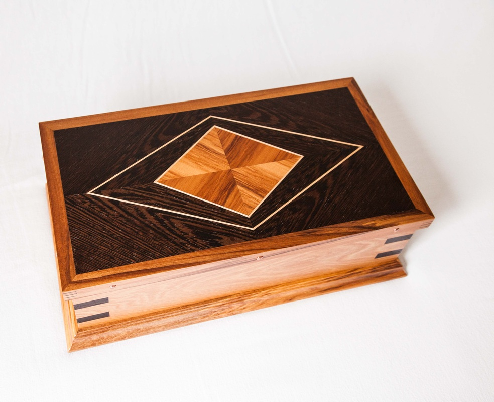 Marquetry Heritage Jewellery Boxes Quality Native Timber